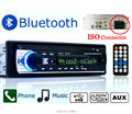 12V  In-Dash Audio Player MP3/FM/USB/SD/AUX-IN/Car Electronics Bluetooth in one din cellphone Charger Car Stereo Radio