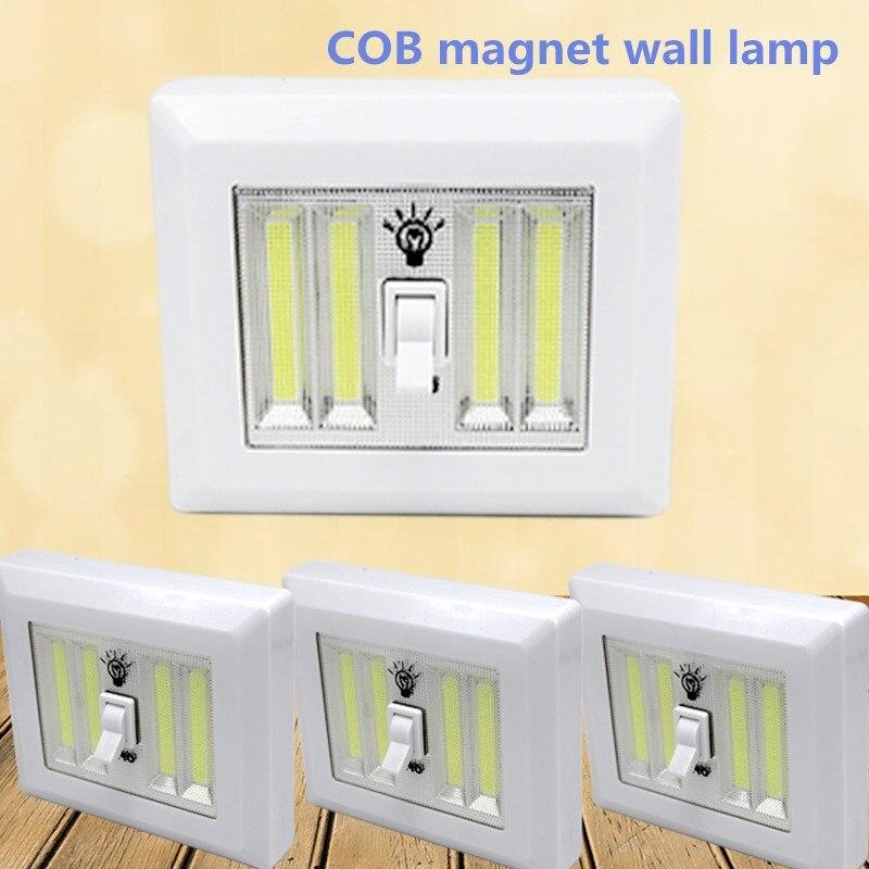 8W Multifunctional COB Wall Lights portable Night Lights ...