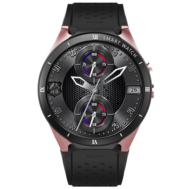 KingWear KW88 Pro 3g Smartwatch телефон 1,39 ''AMOLED HD Экран Android 7,0 MTK6580 4 ядра 1. 3g Гц 1 GB + 16 GB Смарт-часы с камерой