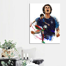 Benjamin Pavard From France Football Team Canvas Posters Prints Painting Wall Oil Pictures For Bedroom Modern Home Decoration