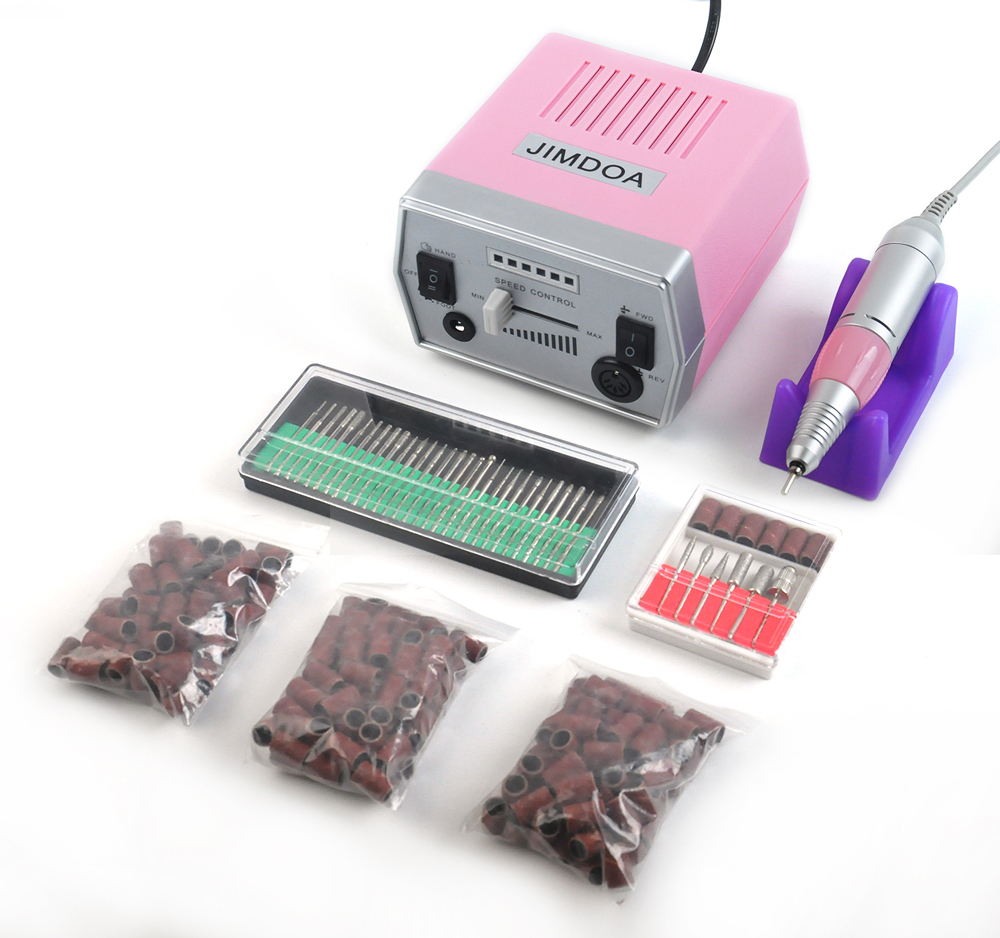 Free shipping/Drop shipping Professional nail sanding drilling machine&electric Manicure Pedicure Kit Set with US/EU Plug 2014 new free shipping dual display hk 809 with waistbelts machine for pedicure