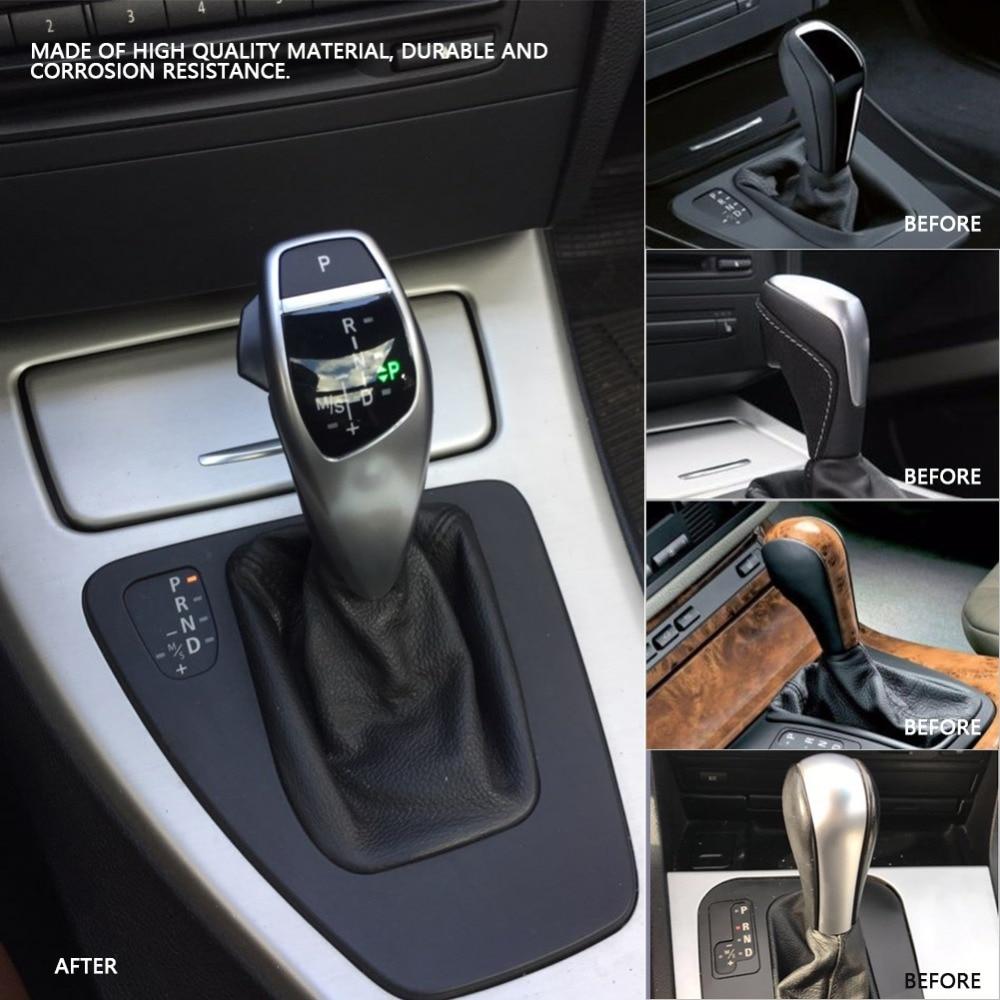 US $97 98 24% OFF|Auto Car Manual Gear Shift Knob Stick LED Shift Lever LHD  Automatic Gear Shift Knob for BMW E90 E91 E93 E81 E82 E84 E87 E88 E89-in