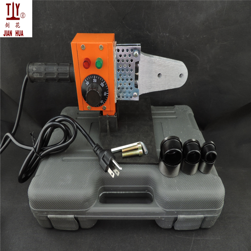 Free shipping temperature controled AC 110V 60hz US power plug DN20-32mm heater welder plastic pipe welding machine ppr tubeFree shipping temperature controled AC 110V 60hz US power plug DN20-32mm heater welder plastic pipe welding machine ppr tube