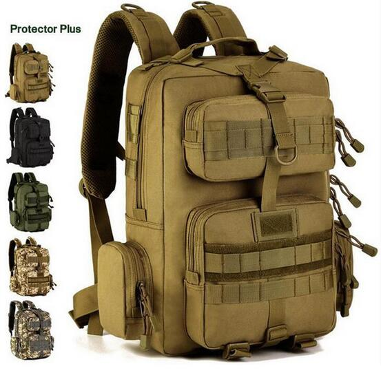Protector Plus 30L Sports Outdoor Military Molle Tactical Backpack Bag For Cycling Hiking Backpacks Mochila Camping Bags famous brand 40l outdoor sports military molle tactical travel backpack bags for walking and hiking camping backpacks bag