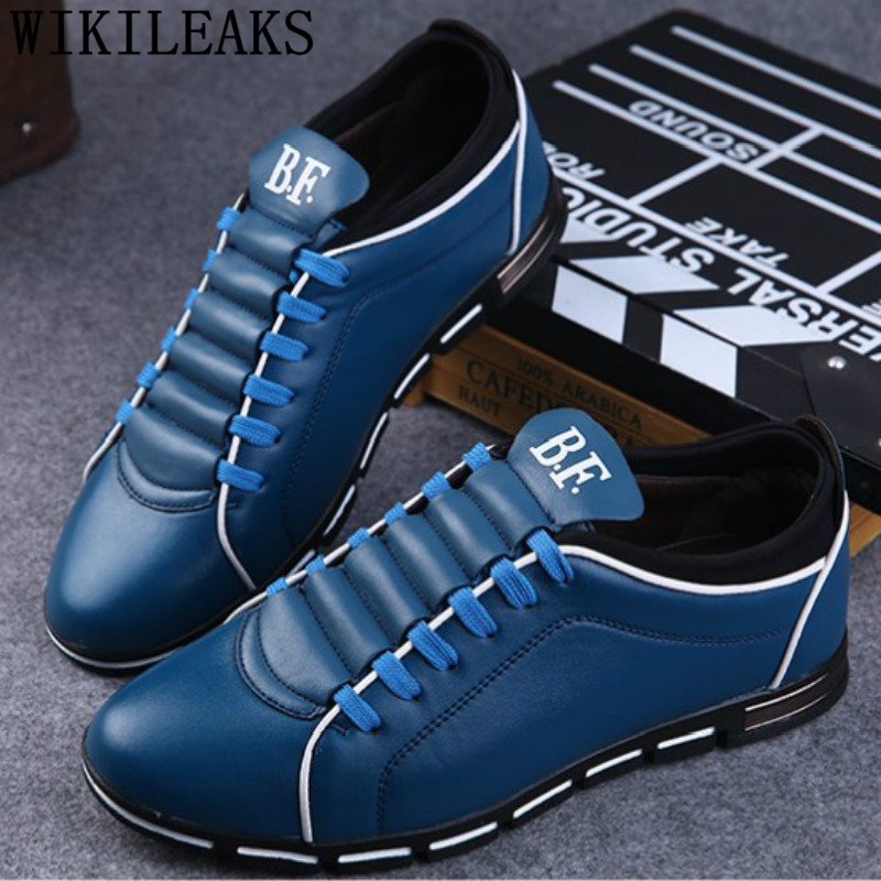 Mens Casual Shoes Hot Sale Leather Shoes Men Designer Sneakers For Men Tenis Masculino Adulto Sneakers Men Luxury Erkek Ayakkabi