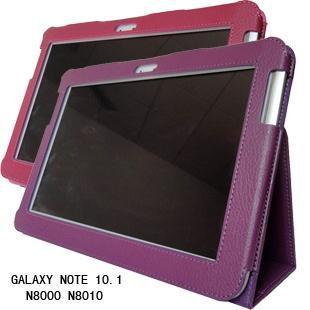 3 in 1 Hot Sale New PU Leather Case Cover For Samsung Galaxy Note 10.1 N8000 N8010 + Stylus + Screen Film