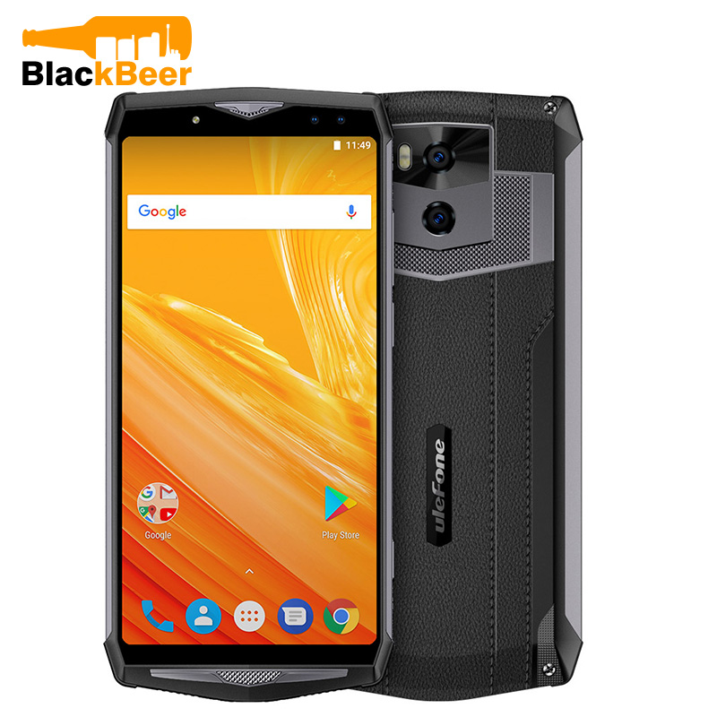 Ulefone Power 5 Mobile Phone MTK6763 Octa Core 6GB+64GB Android 8.1 Smartphone 21MP Wireless Charger Face ID CellPhone-in Cellphones from ...