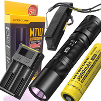 NITECORE MT1U ultraviolet LED 365nm wavelength cold light source handy ultraviolet flashlight large radiant power UV led torch