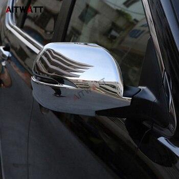 AITWATT Honda CRV Için CR-V 2007-2011 ABS Krom Araba Ayna Kapağı Dikiz Aynaları Kapak Trim Sadece Fit Araba dönüş Işığı