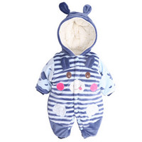 Baby Boy Clothes Newborn High Quality Cartoon Cotton Thick Warm Infant Jumpsuit Winter Clothing Baby Clothes