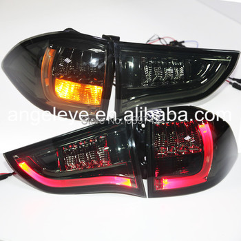 For Mitsubishi for Pajero Sport LED Tail Lamp 2010-2013 Year Smoke Black Color YZV2