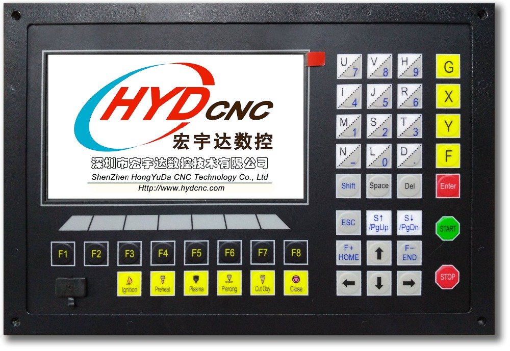 cnc controller HYD-2100B and fastcam nesting software