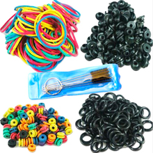 Hot Selling Tattoo Accessories Tattoo Supplies Rubber O-Rings A-bar Grommet Nipple Bands Machine Cleaning Brush
