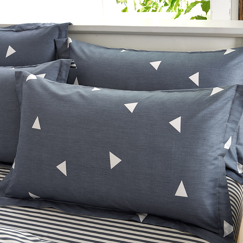 buy 100 cotton duvet cover bed set geometric bedding sets comforter sets twin queen king size flat sheet pillowcase gray 4 pieces from
