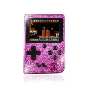Image 3 - 129 jogos retro menino 2.4 polegada tela colorida handheld game console suporte a saída de TV