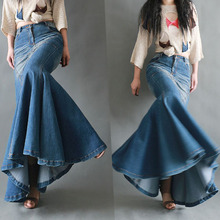 Fishtail Slim Skirts Maxi