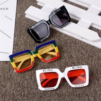KOTTDO 2018 nowe okulary przeciwsłoneczne dla dzieci kwadratowe okulary przeciwsłoneczne UV400 okulary przeciwsłoneczne dla dzieci okulary przeciwsłoneczne dla dziewczynek chłopcy óculos De Sol tanie i dobre opinie Z tworzywa sztucznego Rectangle B111 56mm 51mm 100 Protection Ladies butterfly sunglasses Plastic Shopping Party Travel T Show Outdoor Driving
