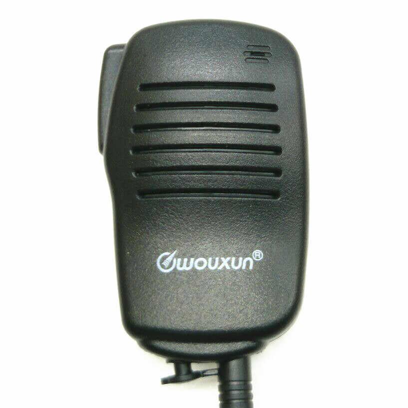 OPPXUN Talkie-walkie PTT Haut-Parleur Microphone Pour TK2107 TK3107 TK278 BAOFENG UV-5R UV-82 Puxing PX-888K Wouxun KG-UVD1P TYT