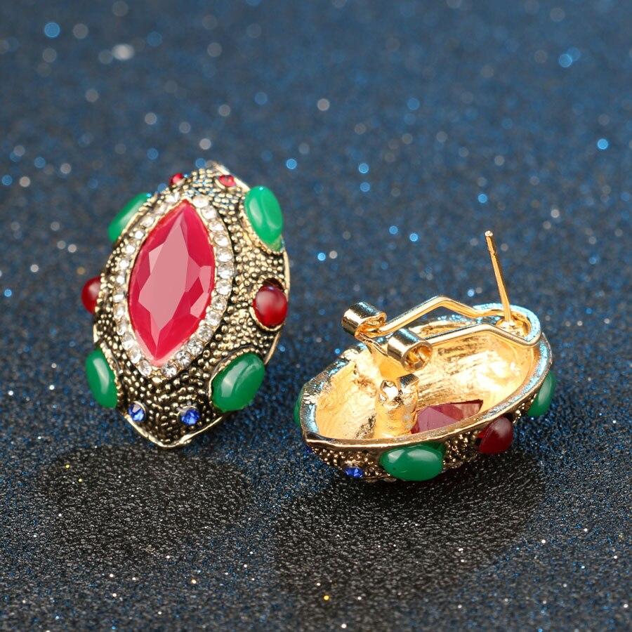 Tyrkiske smykker Nigerianske bryllup afrikanske perler Lucky Eye - Mode smykker - Foto 4