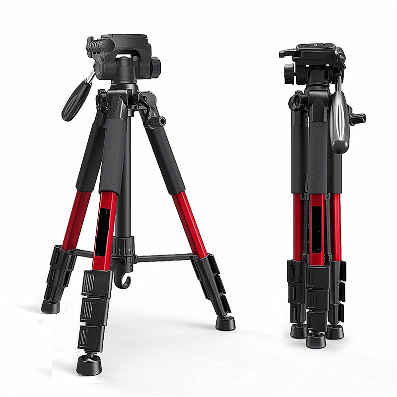Tripod SLR camera professional tripod portable travel aluminum camera tripod accessories 1400mm