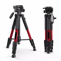 Tripod SLR camera professional tripod portable travel aluminum camera tripod accessories 1400mm