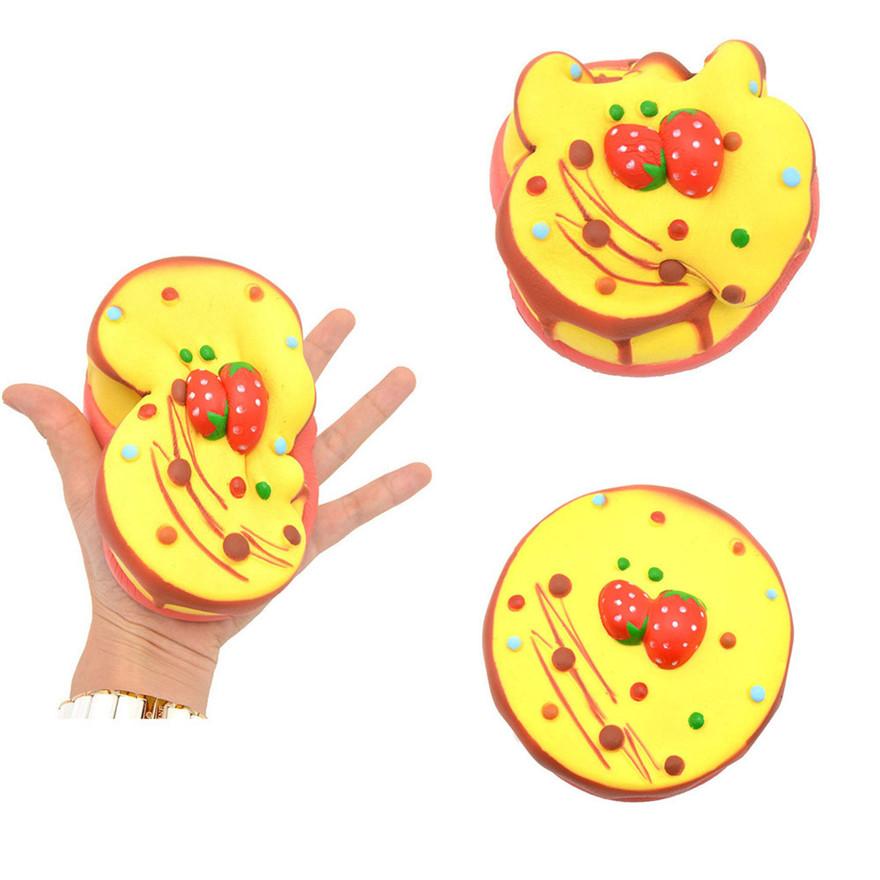 CCCZQ toy Squishy Strawberry Cake Scented Charm Slow Rising Squeeze Stress Reliever Toy Discount wholesale MAY 23