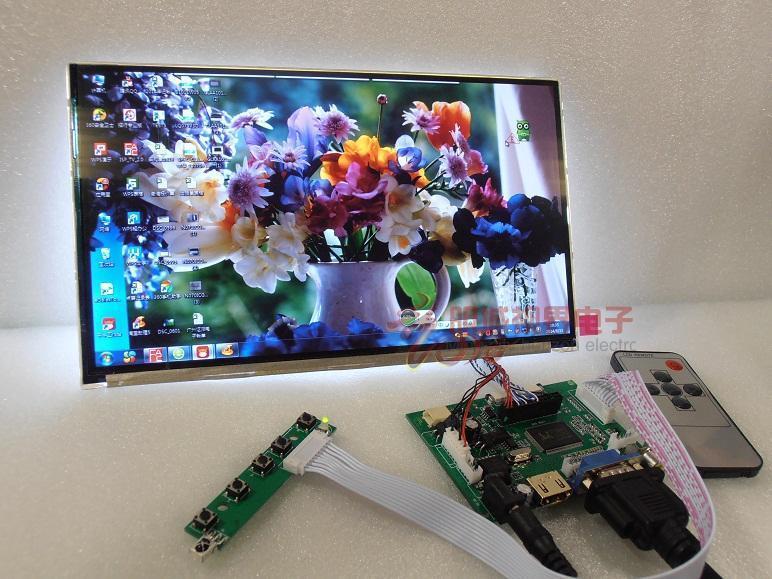 10 pouce IPS Écran LCD 1366*768 720 p Affichage Arrière Priorité Navigation Mobile avec Moniteur de Vue Arrière de Voiture télécommande HDMI VGA AV