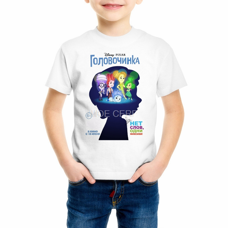 Kids New 3D Prints The Fixiki T shirts Boys 3D kawaii Cartoon Fixies Shirts girls 6 8 10 12 year funny Childrens tshirt Z12-1