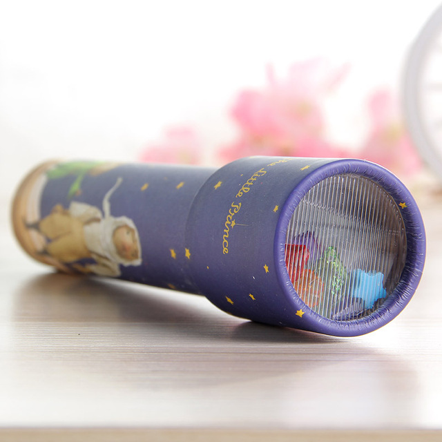 1pc Little Prince Kaleidoscope Toys Rotate Periscope Educational Toys for Children Magic Baby Sensory Toy Children's Day Gifts
