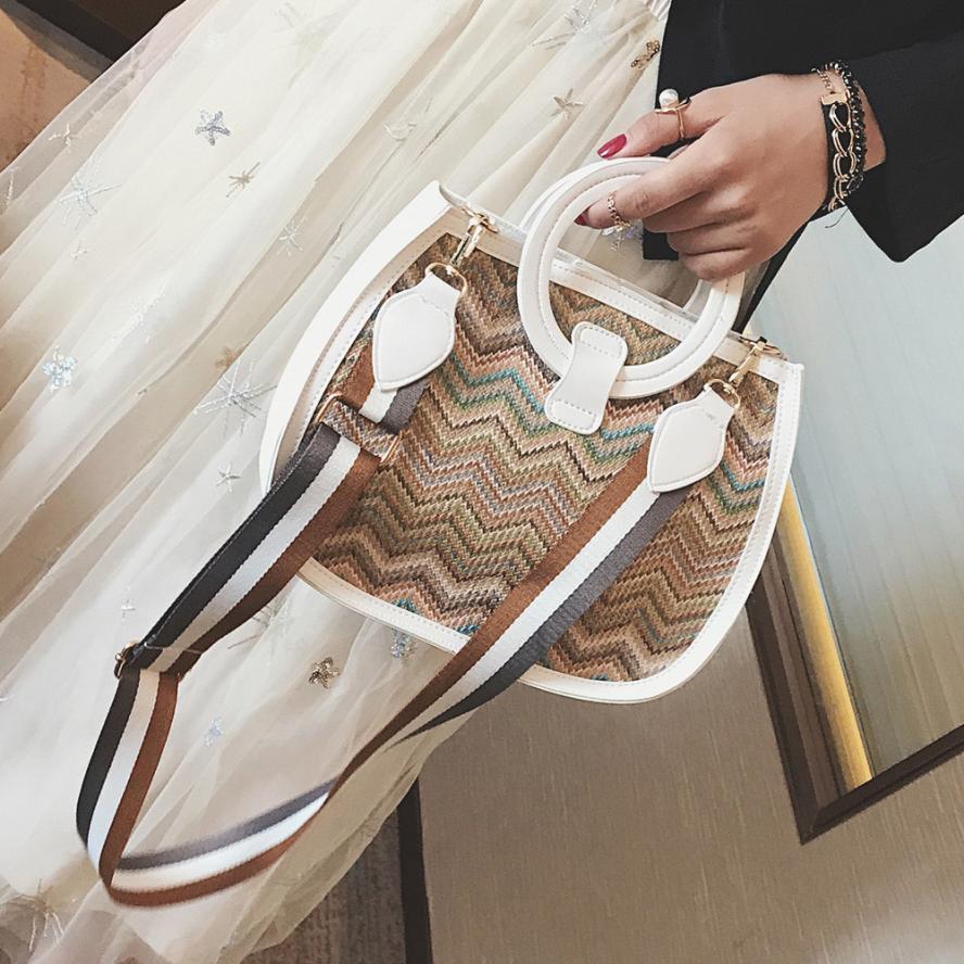 Molave Shoulder Bag new high quality Rattan Messenger Color Weave Ladies Clutches Crossbody Tote shoulder bag women MAR9