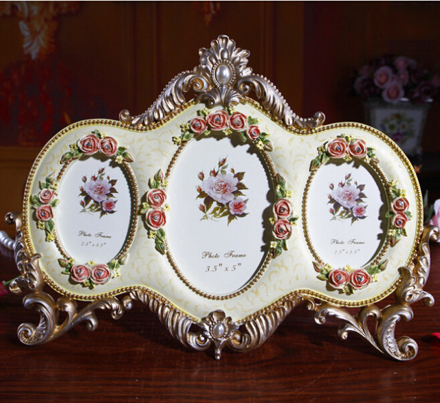 European Top Grade Composite Frames Fashion Creative Picture Frames