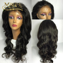 Brazilian Lace Front Wig Human Hair Natural Body Wave 130% Density Human Hair Full Lace Wigs 8-26 Inches Human Hair Wigs