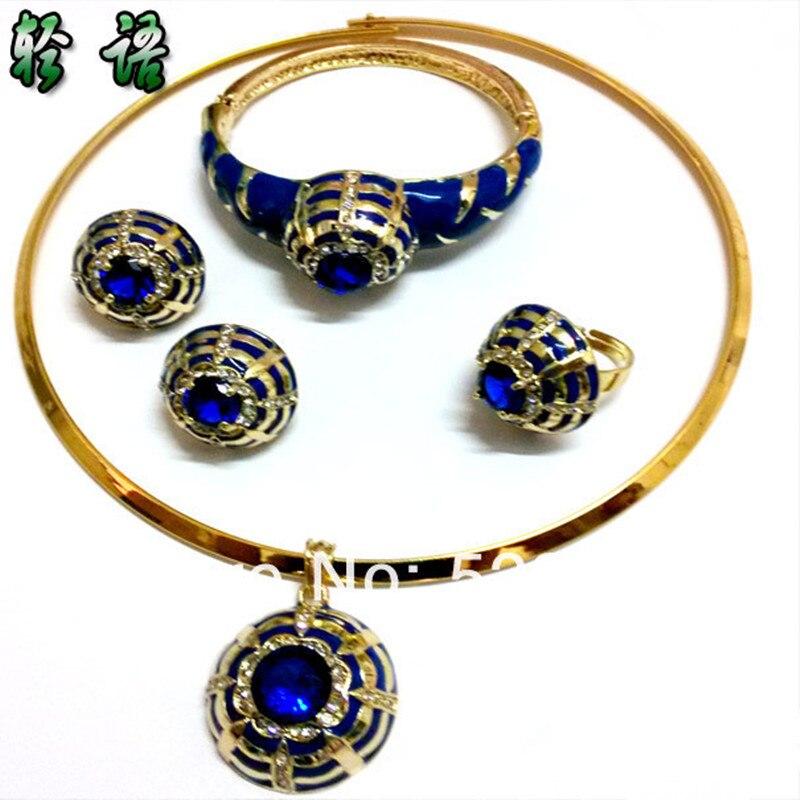 3a52118df89 Ensembles de bijoux de mariage plaqué or bijoux africains ensemble costume  ensemble de bijoux femmes collier ...