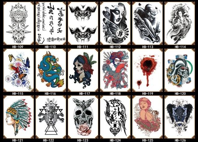 2019 New arm tattoo sticker temporary tattoo sticker personality water transfer printing fashion beauty decoration customization