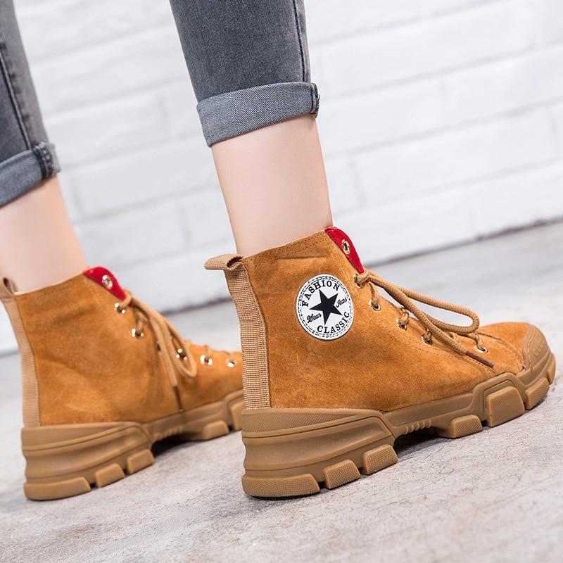 Femelle Femmes Cheville Marque Bottes En Véritable 2018 Jookrrix Mode Chaussures Dame De Automne Chaussure Cuir Martin Noir Croix marron attaché g1xW6WETq