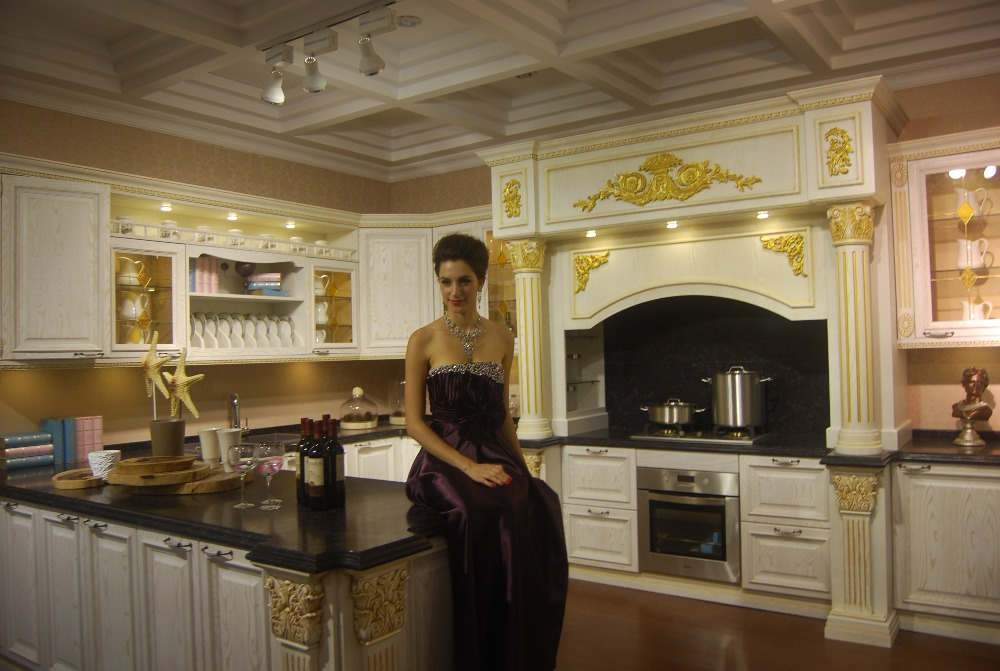 High Luxury Design Kitchen Cabinet For Villa House K030