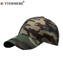 BUTTERMERE Snapback Hats Camouflage Mens Army Green Casual Cotton Baseball Cap Outdoor Fashionable Hip Hop Dad And