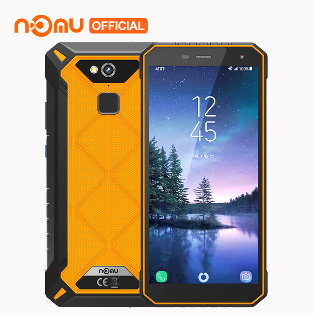 NOMU S50 Pro 5000mAh 64GB 4GB IP68 Waterproof 4G Mobile Phone Android 8.1 5.72Inch 18:9 HD Octa-core 16MP NFC Type-C Smartphone