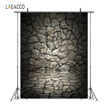Laeacco Old Stone Cracked Wall Grunge Portrait Photography Backgrounds Customized  Photographic Backdrops For Photo Studio