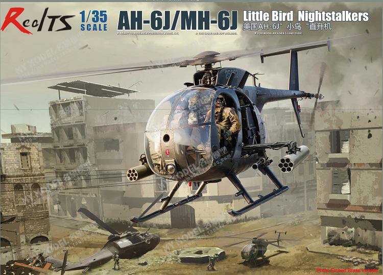 RealTS Kitty Hawk 1 35 KH50003 AH 6J MH 6J Little Bird Nightstalkers