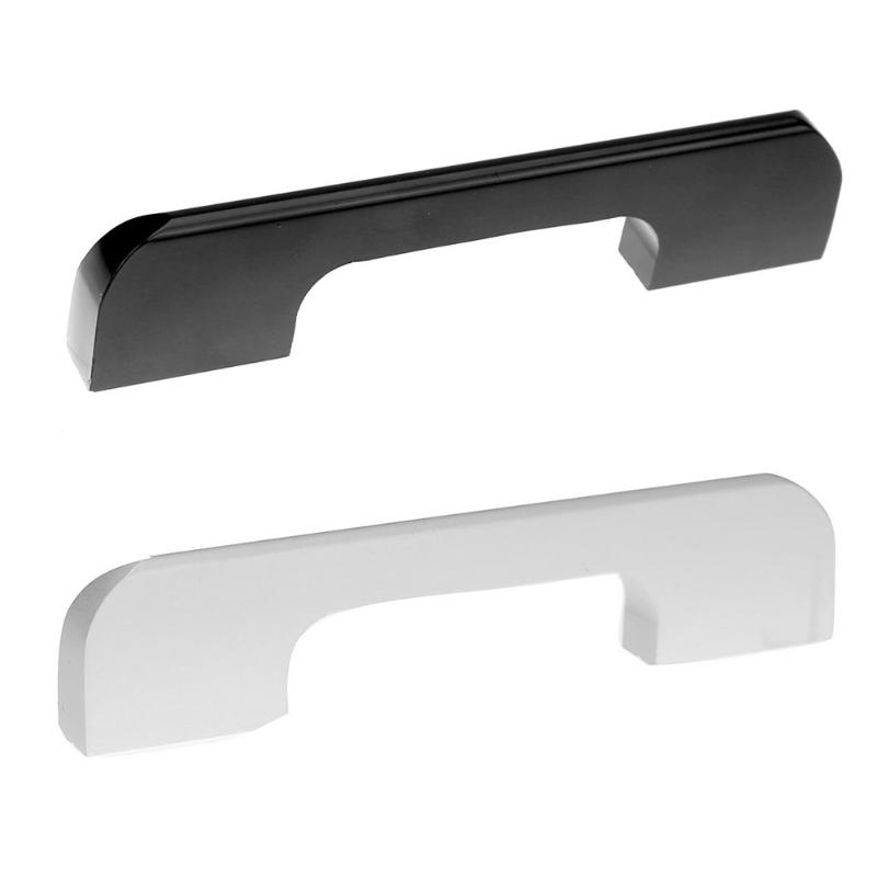 Simple Rectangle Modern Kitchen Cabinets Closet Door Drawer Aluminum Knobs Pull Handles Family Furniture Hardware high grade crystal handles wardrobe door cabinet knobs furniture closet drawer hardware small modern kitchen pull and handle