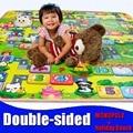 Детские игрушки двойной сталкиваются пены Игровой Коврик, Коврик для Детей/Holiday Beach Безопасности + Тренажерный Зал Для Пикника ковер thickness0.5cm