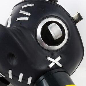 Image 5 - ソフト素材!!! Roadhogコスプレマスクroadhogマスクタンクヒーローマコrutledge所有者のスクラップ銃junktown