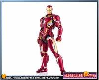Мстители 2 эра Альтрона оригинальные Bandai Tamashii Наций СВЧ/S. h. figuarts фигурку Железный человек (Железный человек) Марк 45