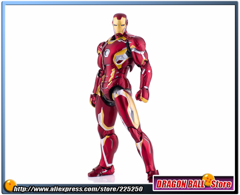 Avengers 2 Age of Ultron Original BANDAI Tamashii Nations SHF/ S.H.Figuarts Action Figure - Iron Man (Ironman) MARK 45 anime captain america civil war original bandai tamashii nations shf s h figuarts action figure ant man