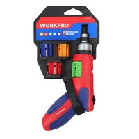 WORKPRO 24 IN 1 Auto Loading Ratchet Screwdriver with Bits Set Easy Change Multiple size for all applications