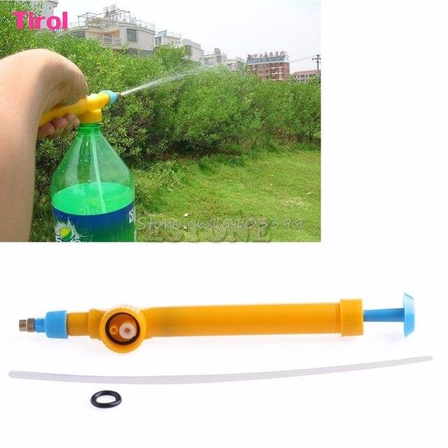 garden pump sprayer. High Pressure Mini Water Gun Garden Pump Spray Bottle Trolley Manual Sprayer New G08 Drop Ship
