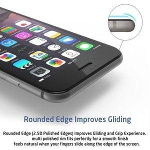 Image 4 - Funda de vidrio templado para iPhone, Protector de pantalla de vidrio templado de cobertura completa 9H para iPhone 7 8 6 6s Plus X XS Max XR 5 5s SE