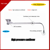 Wash Car High Pressure Cantilever Connection High pressure Water Pipe 360 Degree Rotary Telescopic Arm Free Shipping
