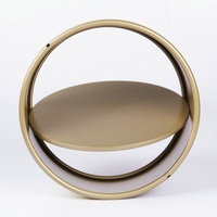 6 Inch Round Shape Removable Bottom Baking Pan Non Stick Metal Cake Mold